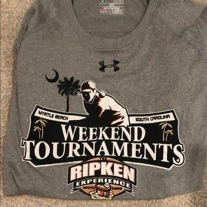 Under armour Ripken baseball tournament T-shirt